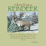 Reindeer T-shirt S M L Xl 2xl Advice From Christmas Winter Nwt Forest Animals