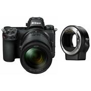 Nikon Z6 Fx-format Mirrorless Camera With 24-70mm Lens And Mount Adapter Ftz