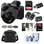 Sony Alpha A7 Iii 24mp Uhd 4k Mirrorless Camera With 28-70mm Lens W/free Acc Kit
