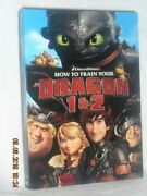 How To Train Your Dragon 1 And 2 Dvd, 2018, 2-disc Animated Kids Gerard Butler