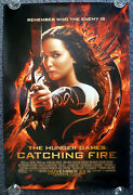 Hunger Games Catching Fire Original 2013 American Advance One Sheet Movie Poster