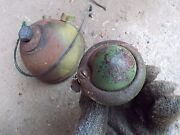 1946 John Deere A Tractor Jd Rear Battery Box Light And Bullet Tail Red Light