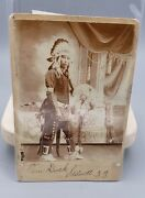 Native American, Comanche Indian Chief, Stillwell, Indian Territory