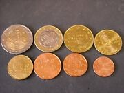 2002 Error Coins Complete Issue All With Letters Inside Star. S, F, E.