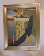 Jacques Lamy Abstract Ii Signed And Framed - 1993