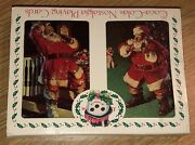 1993 Limited Edition Coca Cola Nostalgia Christmas Playing Cards Terrier 2 Decks