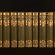1911 8 Vols In 12 Novels Of The Sisters Bronte Thornton Edition Scott Illustrate