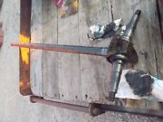 1946 John Deere A Sq Axle Tractor Jd Front 1-piece Pedestal Shaft To Spindle