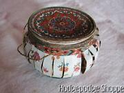 1840-1880 Antique Handmade Paper German Dresden Christmas Container Ornament