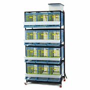 Partridge Cage - 4 Layer Easy To Clean Hygienic And Effective Breeding