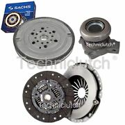 2 Part Clutch Kit And Sachs Dmf With Csc For Vauxhall Astra Saloon 2.0 Dti 16v