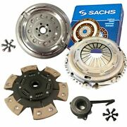Sachs Dual Mass Flywheel And Paddle Clutch Kit For Seat Altea Mpv 2.0 Tdi 16v