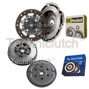 Luk 2 Part Clutch Kit And Sachs Dmf For Ford Fusion Estate 1.4 Tdci