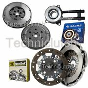 Luk 2 Part Clutch Kit And Sachs Dmf With Sachs Csc For Mazda 2 Hatchback 1.4 Cd