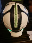 Adidas Micoach Smart Soccer Ball Size 5 Works With Ios/ Android Phone Apps