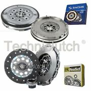 Luk 3 Part Clutch Kit And Sachs Dmf For Bmw 3 Series Berlina 330 Xd