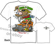 Rat Fink T Shirt 1932 Hot Rod Tee 32 Ford Clothing Big Daddy Clothing Automotive