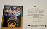 2004 Sp Authentic Buy Back 2004 Ud Rocco Baldelli Autograph Ed 5/5 To Jersey