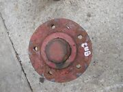 Farmall Cub Tractor Ih Front Wheel Hub And Cap To Hold Rim To Spindle