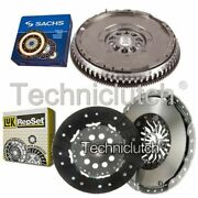 Luk 2 Part Clutch Kit And Sachs Dmf For Volvo V70 Estate 2.3 T Awd