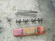 Farmall 300 Rc Tractor Ih Engine Motor Rocker Arm Assembly + Push Rods And Cover
