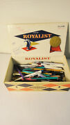 Royalist Cigar Box Of Advertising Pencils And Pens Ball Points  Free Shipping