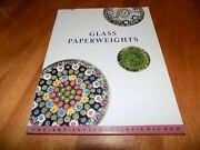 Glass Paperweights The Art Institute Chicago Antique Paperweight Collect Vg Book