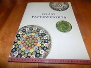 Glass Paperweights The Art Institute Of Chicago Antique Paperweight Collect Book