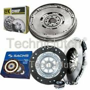 Sachs 3 Part Clutch Kit And Luk Dmf For Mercedes-benz Vito Bus 110 Td 2.3