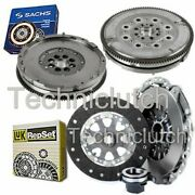 Luk 3 Part Clutch Kit And Sachs Dmf For Bmw 5 Series Estate 520i