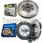 Sachs 3 Part Clutch Kit And Luk Dmf For Bmw 5 Series Saloon 528i