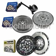 Luk 2 Part Clutch And Sachs Dmf With Sachs Csc For Renault Megane Saloon 1.9 Dci