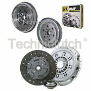 Nationwide 3 Part Clutch Kit And Luk Dmf For Toyota Corolla Estate 2.0 D-4d