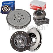 2 Part Clutch Kit And Sachs Dmf With Fte Csc For Opel Zafira A Mpv 2.0 Dti 16v