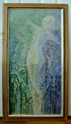 Incredible Maria Ginter Abstract Painting Lady With Demon Faces