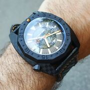 Vdb 2014 Carbon 500m Automatic Watch Hand Made In Germany