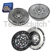 Nationwide 2 Part Clutch Kit And Sachs Dmf For Renault Megane Saloon 1.9 Dci