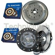 Sachs 3 Part Clutch Kit And Sachs Dmf For Audi A4 Estate 1.9 Tdi