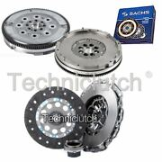 Nationwide 3 Part Clutch Kit And Sachs Dmf For Bmw 3 Series Saloon 330 Xd