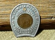 Ca 1957 New Port Richey Florida Fl Pasco Co Real Estate Encased Lincoln Penny