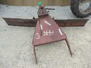 International Farmall Tractor 2pt Hitch 8and039 8 Ft Grader Snow Swivel Blade