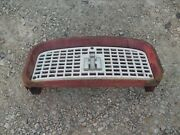 Farmall Ih 560 460 Tractor Front Nose Cone Grill Bonnet / Screen And Ih Emblem