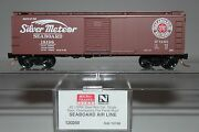 N Scale Mtl 120250 Seaboard Air Line Silver Meteor 40and039 Sd Boxcar 18198 N550