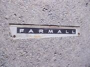 Farmall 806 Tractor Ih Ihc Front Left Hood Skirt White Panel And Emblem And Sp Bolts