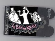Wdi Disney Haunted Mansion Hitchhiking Ghosts Le Bat En Rouge Sign Cast Le Pin