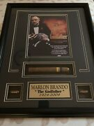 25th Anniversary Matted Picture Frame Of The Godfather Featuring Marlon Brando