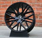 22 Road Force Rf13 Wheels For Porsche Panamera S Gt Gts 4s Staggered Rims