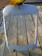 Allis Chalmers C Ca Tractor Original Ac Front Nose Cone Grill And Screen