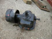 Allis Chalmers C Tractor Ac Power Take Assembly Pto And Belt Pulley Drive Pulley