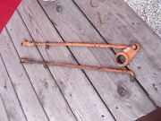 Allis Chalmers D14 Tractor Ac Brake Linkage Rod Rods And Pedal Bracket